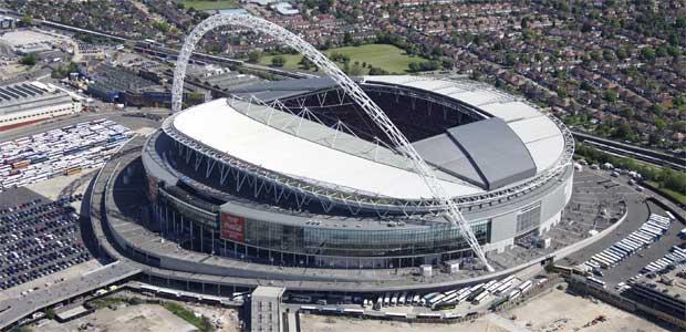 Vemblija stadions - stadiona ietilpība ir 90 000 sēdvietu